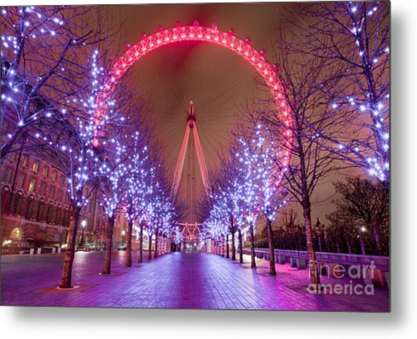 London Metal Print by Damien Keating