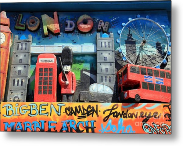 London Symbols Metal Print by Sophie Vigneault