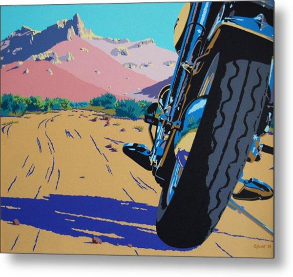 Lonesome Trail Metal Print