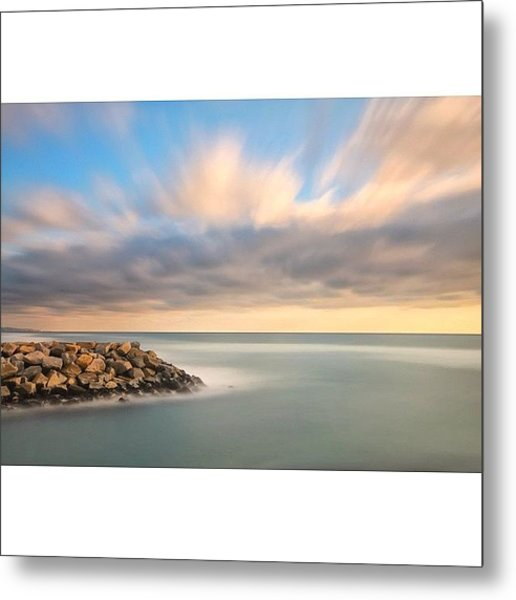 Long Exposure Shot From The North Ponto Metal Print
