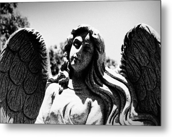 Long Haired Angel Metal Print