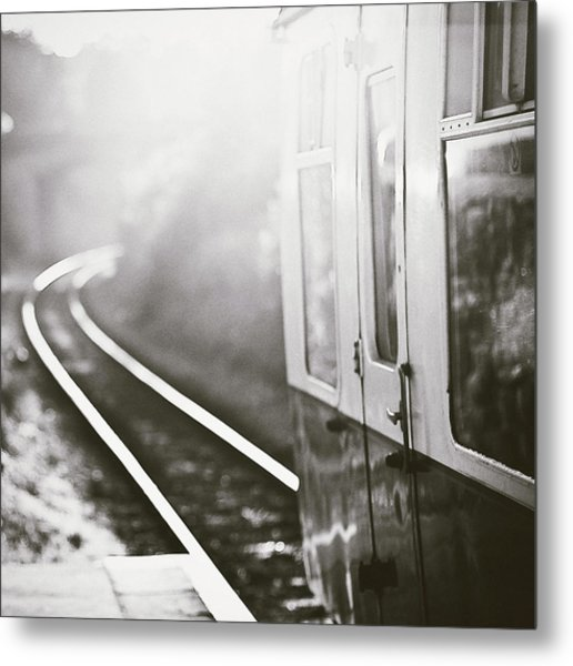 Long Train Running Metal Print