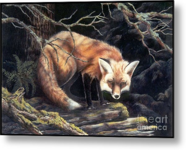 Looking For Lunch   Sold Metal Print