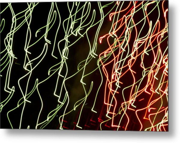Lost In The Crowd Metal Print by Dean Bennett