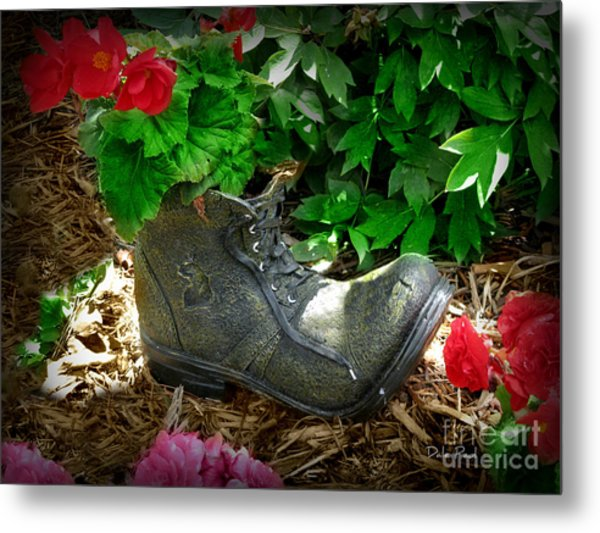 Lost Sole Metal Print