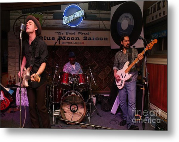 Louisiana House Rockers 02 Metal Print by Mark Guillory