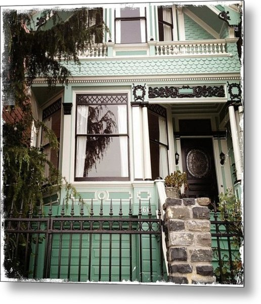 Lovely And Quaint Victorian - So San Metal Print