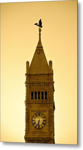 Lowell Clock Tower II Metal Print
