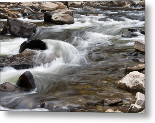 Loyalsock Creek Gentle Rapids Metal Print