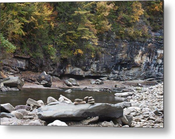Loyalsock Creek In The Fall Metal Print
