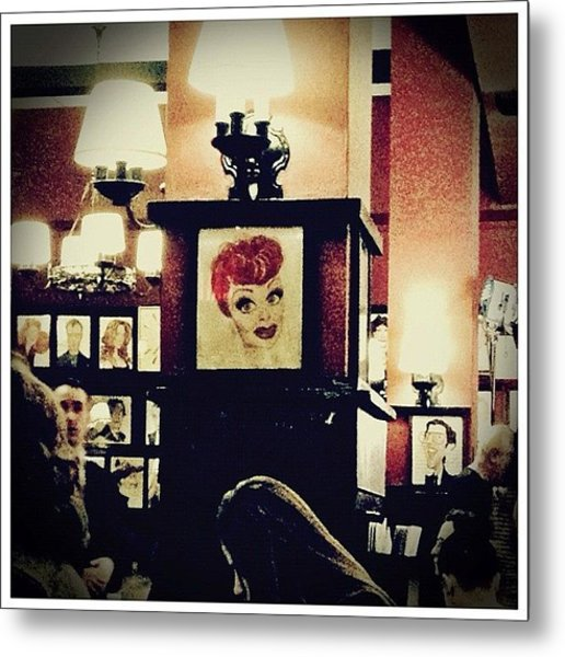 Lucille Ball Metal Print