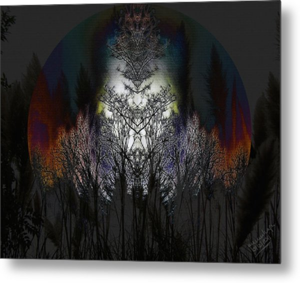 Lunas Shrine Metal Print