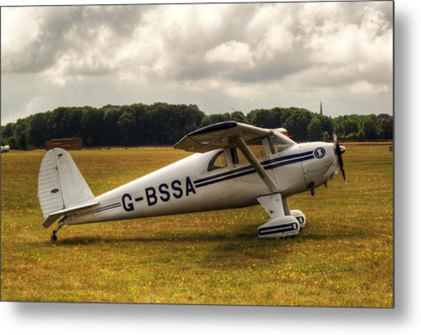 Luscombe 8e Deluxe 2 Seater Plane Metal Print