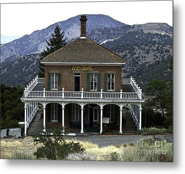 Mackay Mansion Metal Print