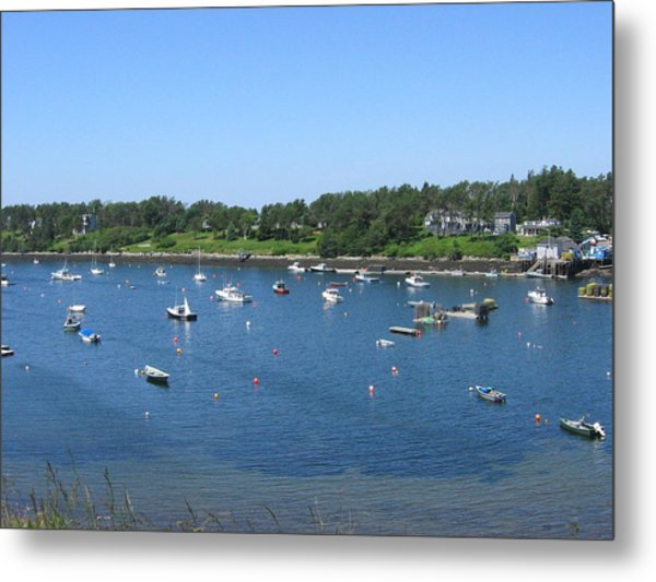 Mackerel Cove II Metal Print