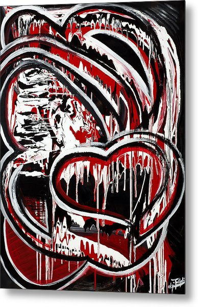 Mad Love Metal Print