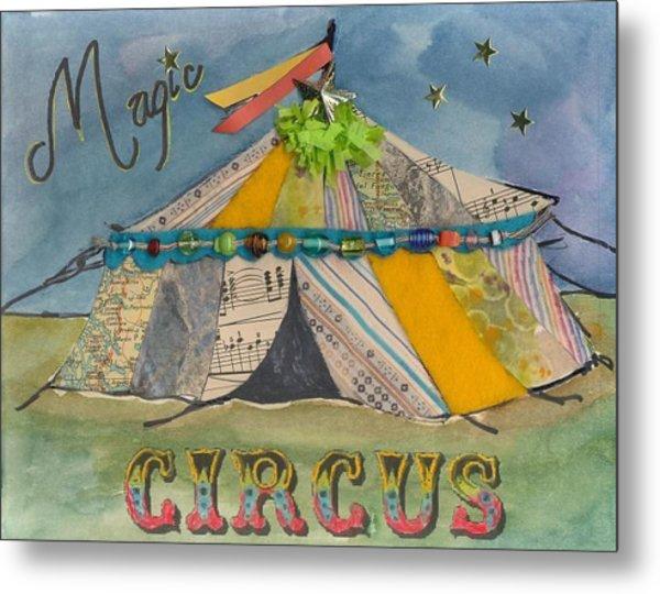 Magic Circus Metal Print