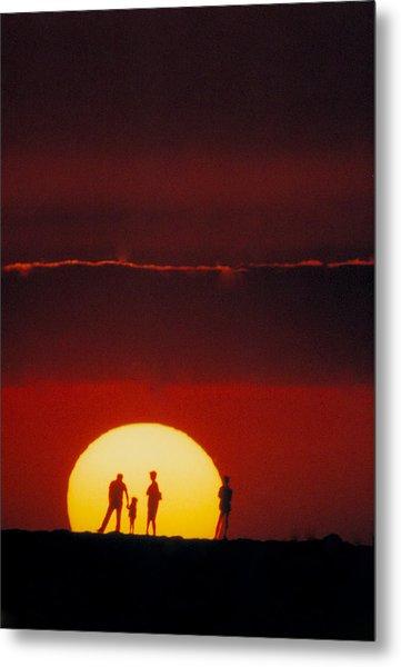 Magic Island Sunset Metal Print