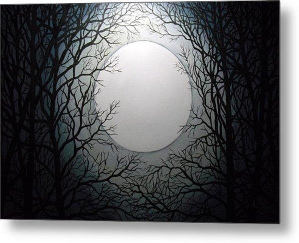 Magic Moon Metal Print by Anne Thomassen