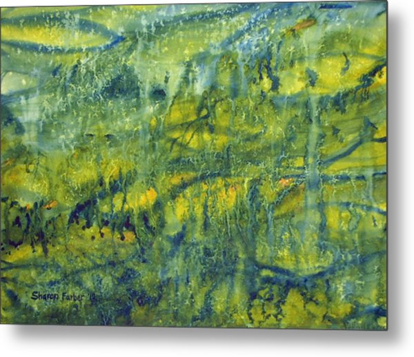 Magical Rainforest Metal Print by Sharon Farber