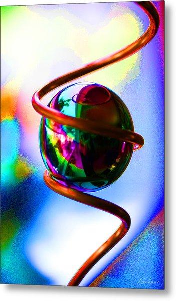 Magical Sphere Metal Print