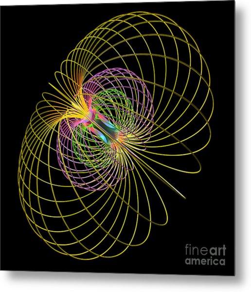 Magnetism 2 Metal Print