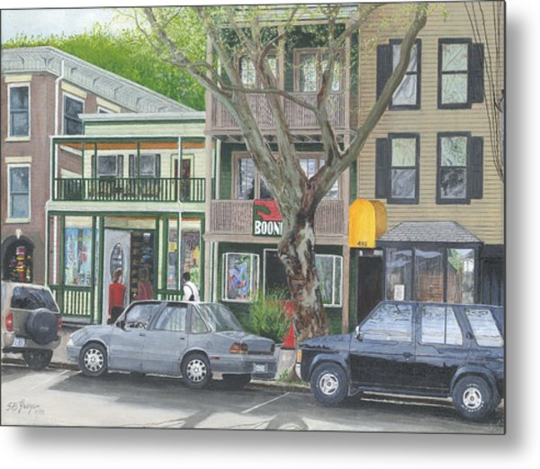 main st so Piermont NY Metal Print