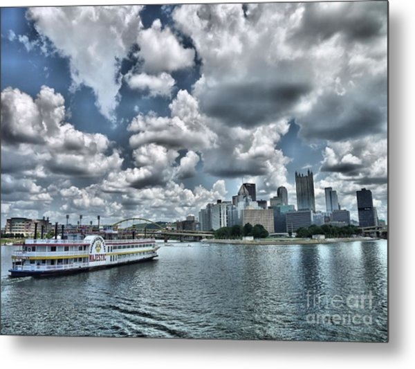 Majestic Metal Print by Arthur Herold Jr