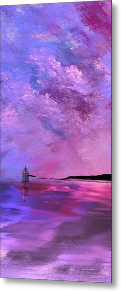 Majestic Vertical Metal Print