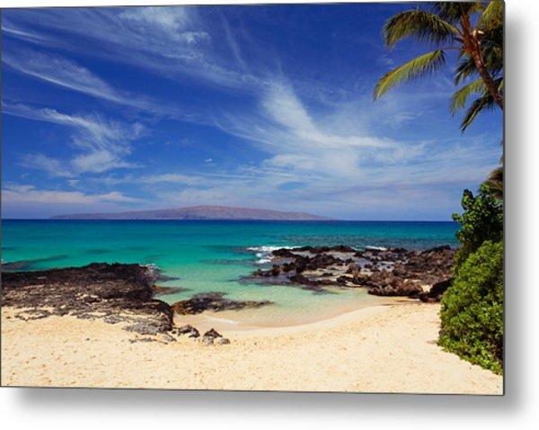 Makena Cove Maui Metal Print