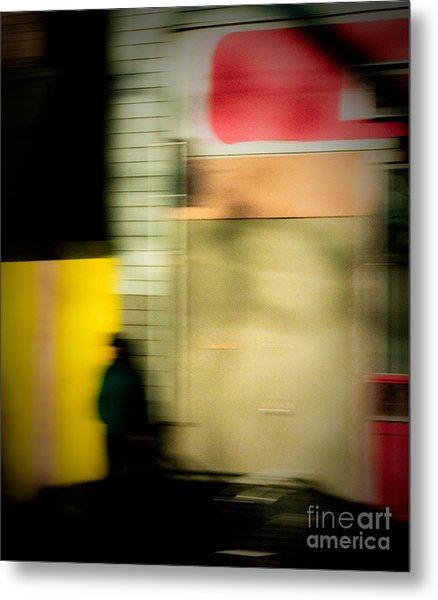 Man In The Shadows Metal Print by Emilio Lovisa