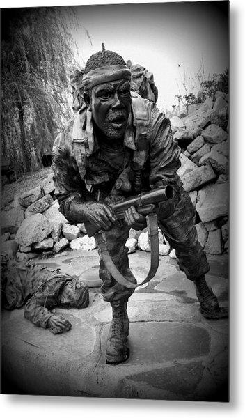 Man O' War Metal Print