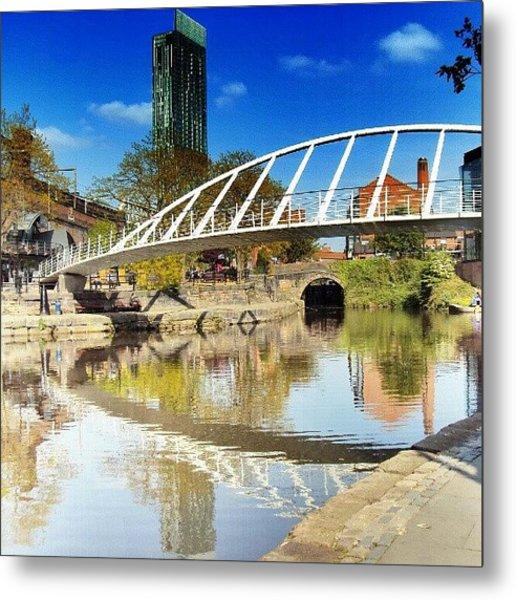 Manchester - April; 2012| #manchester Metal Print