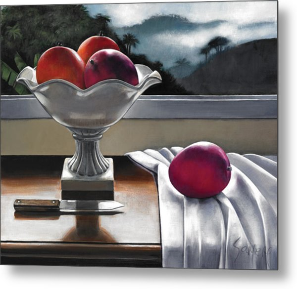 Mangoscape Metal Print by Samere Tansley
