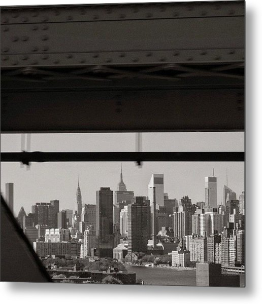 Manhattan - New York Metal Print