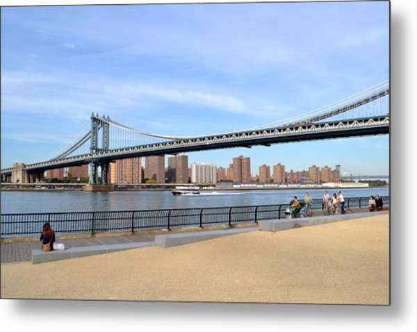 Manhattan Bridge1 Metal Print