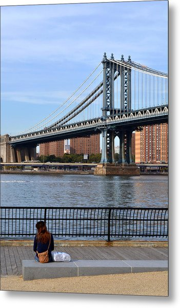 Manhattan Bridge2 Metal Print