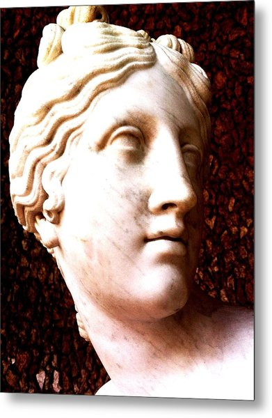 Marble Sculpture Metal Print by Paul Washington
