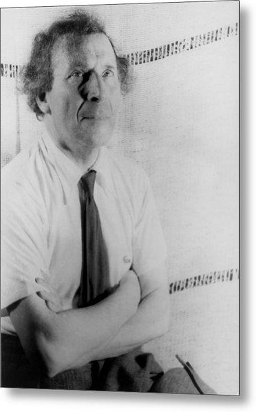 Marc Chagall 1887-1985, Painter Metal Print
