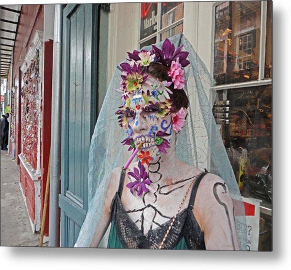 Mardi Gras Voodoo In New Orleans Metal Print