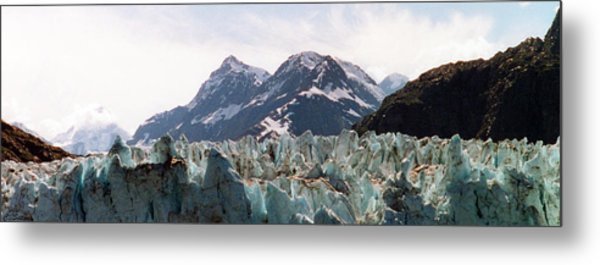 Margerie Glacier View Metal Print