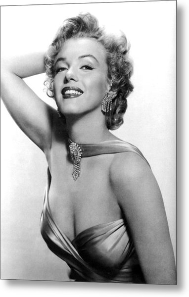 Marilyn Monroe, Circa 1950s Metal Print by Everett