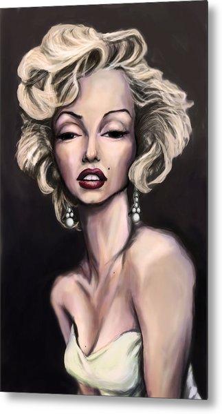 Marilyn Monroe Metal Print by Tyler Auman