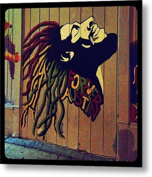 Marley Mural Metal Print