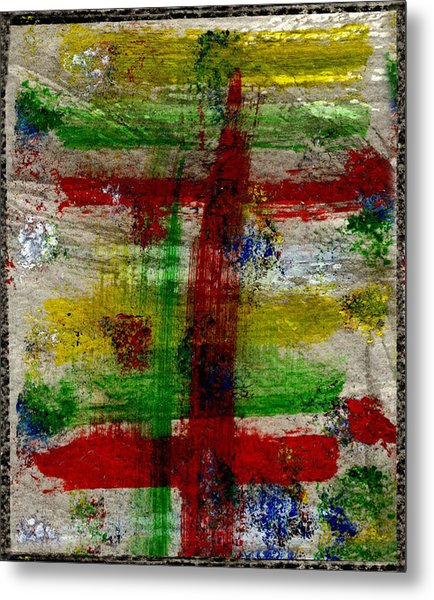 Mast On Fire Metal Print by Kimanthi Toure