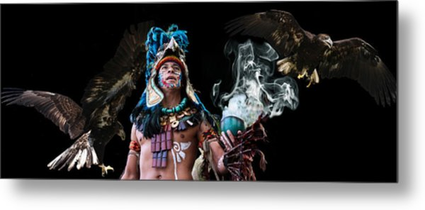 Mayan Spirit Metal Print