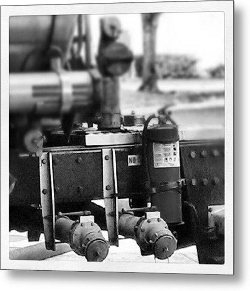 Mechanic Metal Print