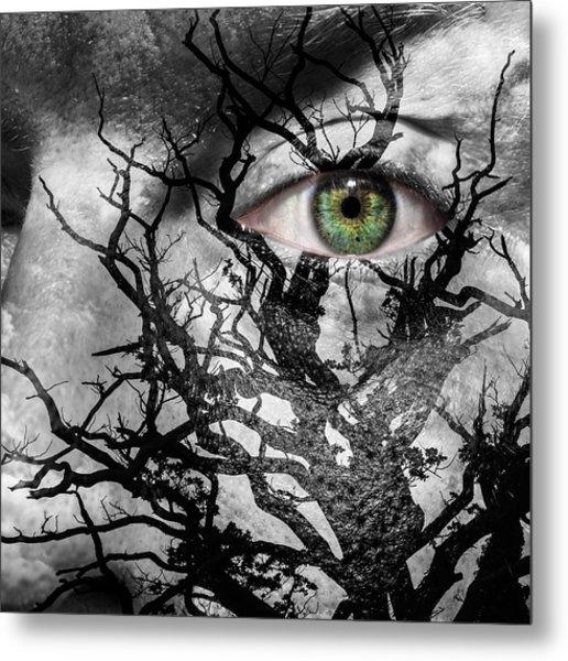 Medusa Tree Metal Print