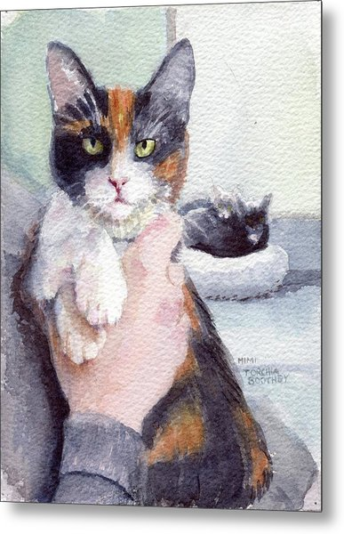 Meggy - Pick Of The Litter Metal Print