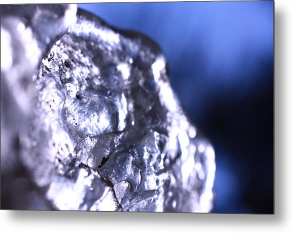 Melted Glass 2 Metal Print by Will Czarnik
